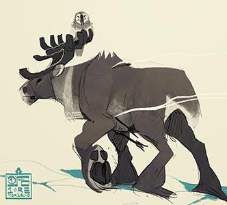 Caribou God