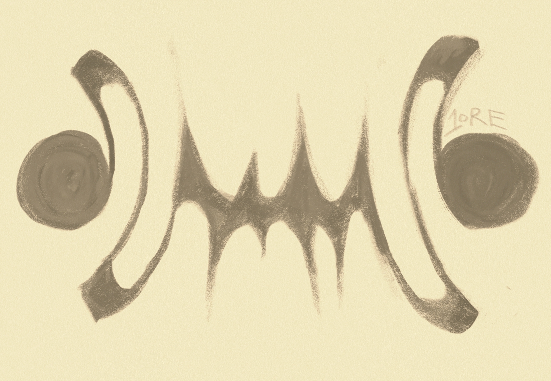 The emblem of the Free Companies of the Ash Tundra, which is styled after the scars sustained by their leader Rayet. They are huge and jagged, shaped like the killing teeth of a great beast.